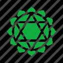 symbols, meditation, anahata, chakra, yoga, spiritual, heart