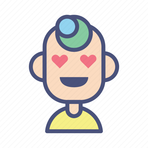 avatar, character, love, male, people, profile, user icon