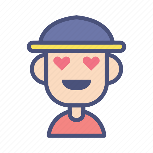 avatar, character, farmer, love, male, people, profile icon