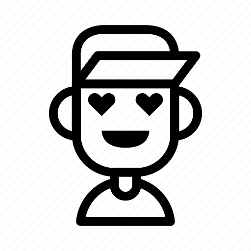 avatar, caps, character, lvoe, people icon