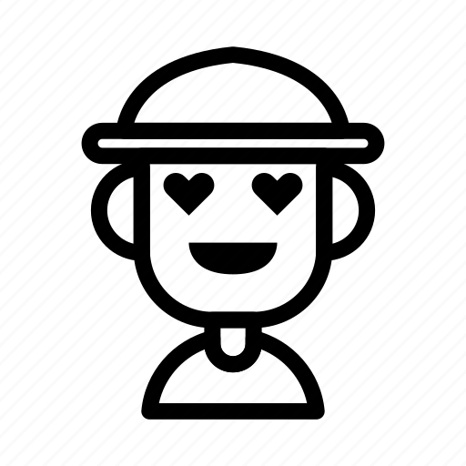avatar, character, farmer, love, people icon
