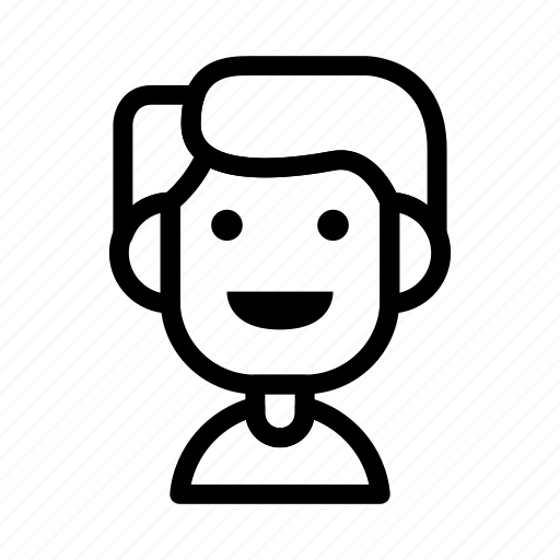 avatar, character, people, smile icon