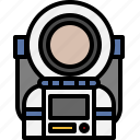 astronaut, avatar, cartoon, man, people, universe icon