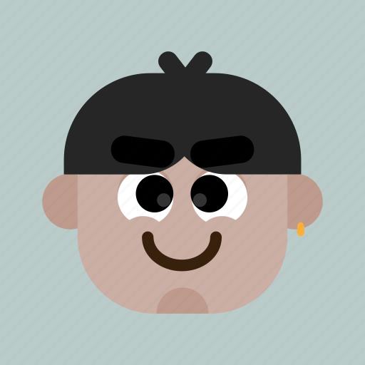 account, avatar, faces, head, man, person, user icon
