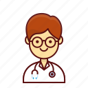character, doctor, hospital, man, person, take care, user icon