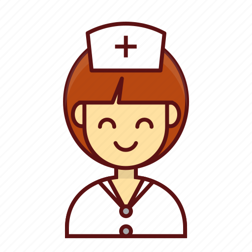 character, friendly, hospital, nurse, person, user, women icon