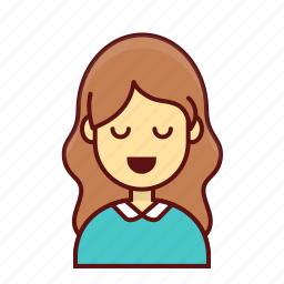 book, character, person, school, teacher, user, women icon