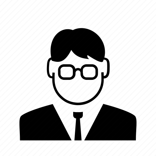 avatar, businessman, character, man, person, profile, user icon