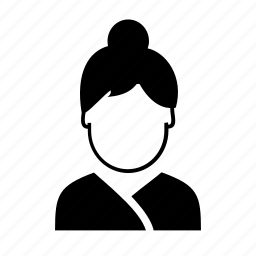 avatar, character, person, profile, secretary, user, woman icon