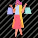 woman, shopping, shop, ecommerce