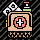 aid, emergency, help, medicine, service icon