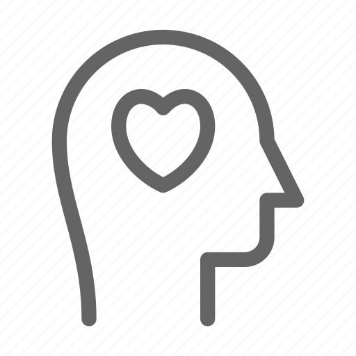 Charity, head, human, love icon - Download on Iconfinder