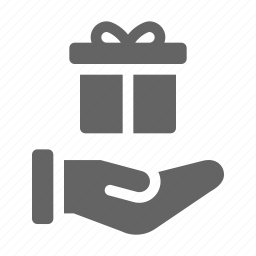 charity, donation, gift, give icon