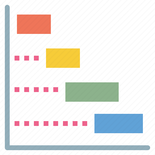 chart, frequency, process, workflow icon