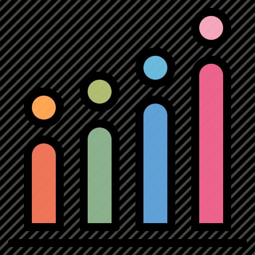 chart, data, estimate, study icon