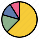 business, chart, information, pie icon