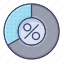chart, circle, pie, proportion icon