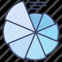 diagram, graph, plot, spiral icon