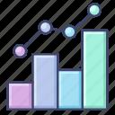 analytics, chart, growth, trend icon