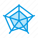 analysis, analyze, chart, circular, diagram, polar, radar icon