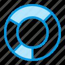 analysis, analyze, chart, diagram, donut icon