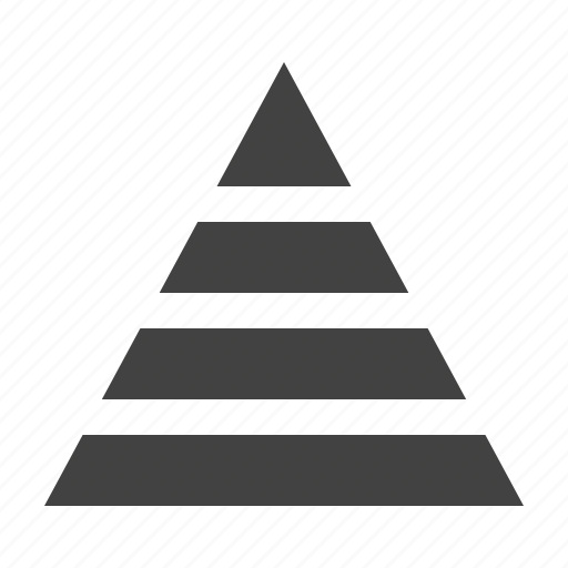 analysis, analyze, chart, diagram, pyramid icon