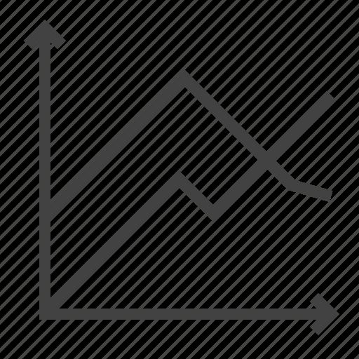 analysis, analyze, chart, diagram, report icon