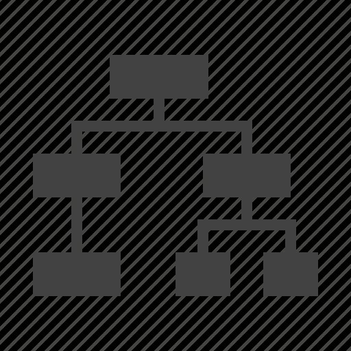 Chart Types Glyph By Nadiinko