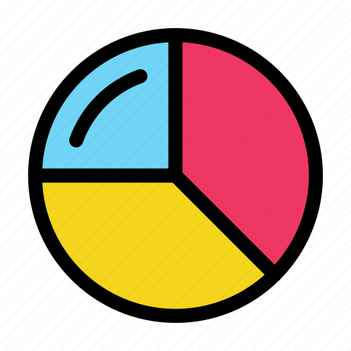 chart, data, diagram, pie icon