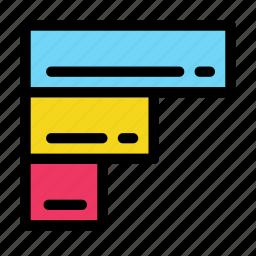 bar, chart, data, diagram icon