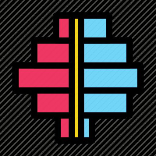 bar, chart, data, diagram, gender icon