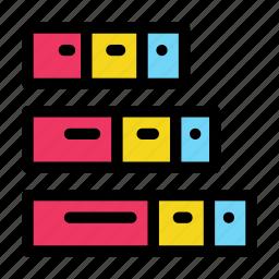 bar, chart, complex, data, diagram icon
