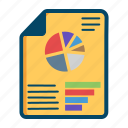bar, dashboard, document, kpi, pie, report, reports icon