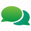 chat, conversation, mobile icon