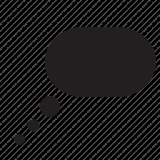 bubble, chat, comic, communication, conversation, speech, talk icon