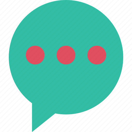bubble, chat, instant, message, sms, text icon