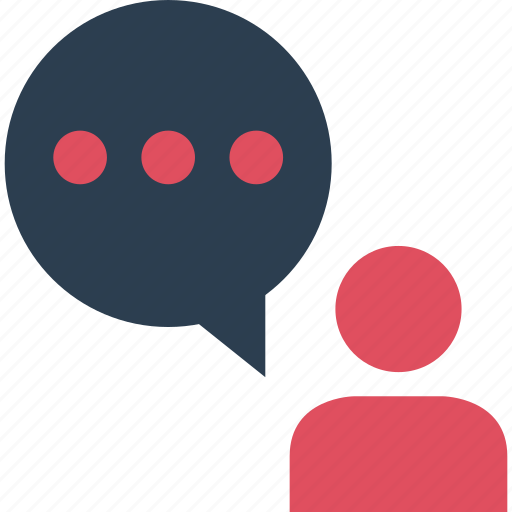 bubble, instant, messaging, online, pop, talk, text icon
