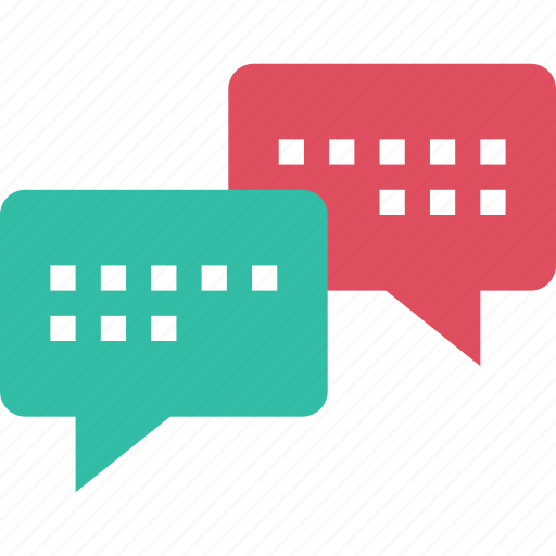 bubble, chat, convesation, message, popup, sms, text icon