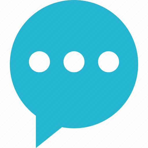 bubble, instant, messaging, online, popup, talk, text icon