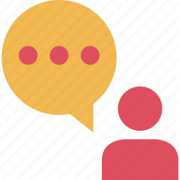 conversation, instant, messaging, online, talk, talking, text icon