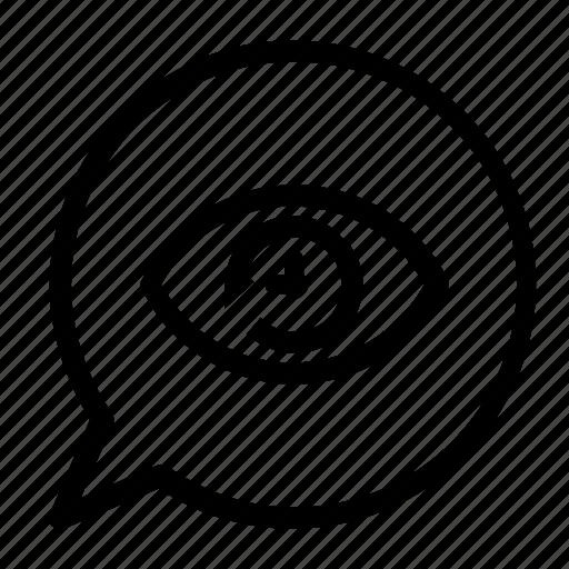 chat, clock icon