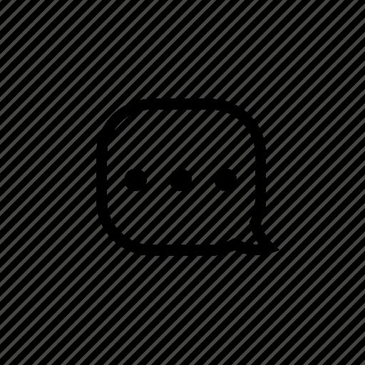 bubble, chat, conversation, dialogue, message icon