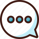 box, bubble, chat, chatbox, messege, sms, text icon