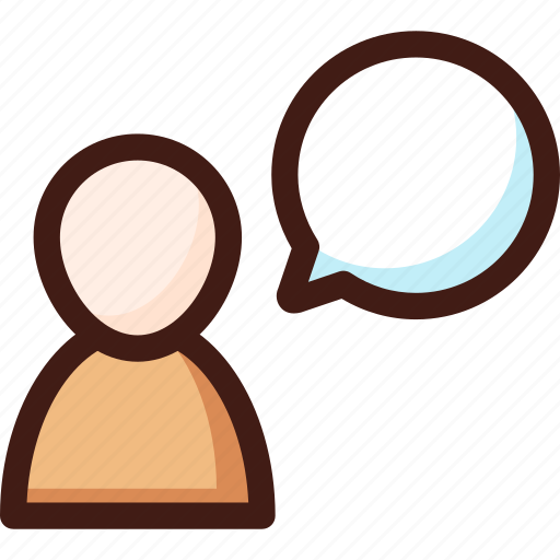 box, bubble, chat, chatbox, messege, talk, user icon