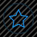 star, bookmark, favorite
