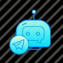 bot, chatbot, internet, messenger, robot