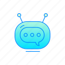 bot, chatbot, internet, robot