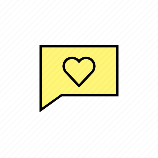chat, conversation, love, message, talk icon