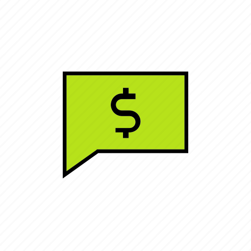chat, conversation, message, money, talk icon