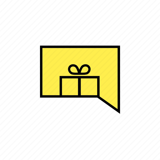 answer, chat, conversation, gift, message, talk icon